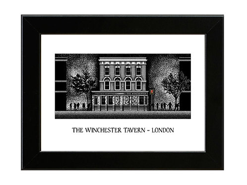 The Winchester - Shaun of the Dead - Framed Art Print