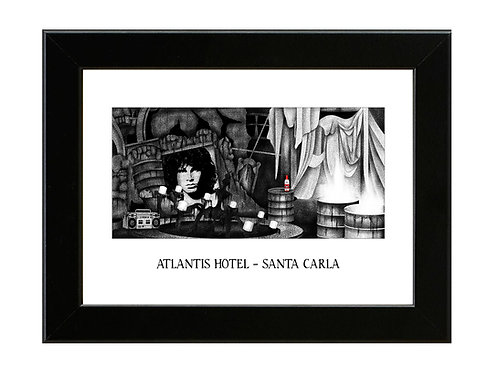 Atlantis Hotel, Santa Carla - Lost Boys - Framed Art Print
