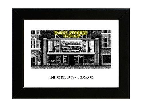 Empire Records  - Framed Art Print