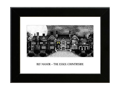 The Haunting of Bly Manor - Framed Art Print