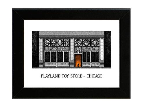 Childs Play - Playland Toys - Framed Art Print