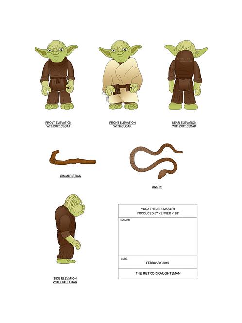 1981 Yoda - Art Print