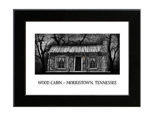 Evil Dead - Cabin in the Woods - Framed Art Print