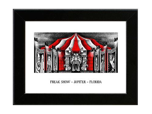 Freakshow - American Horror Story - Framed Art Print