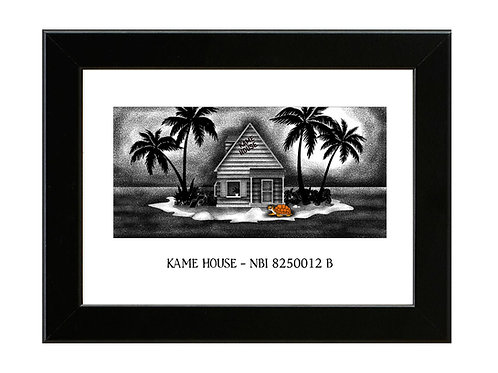 Kame House - Dragonball Z - Framed Art Print