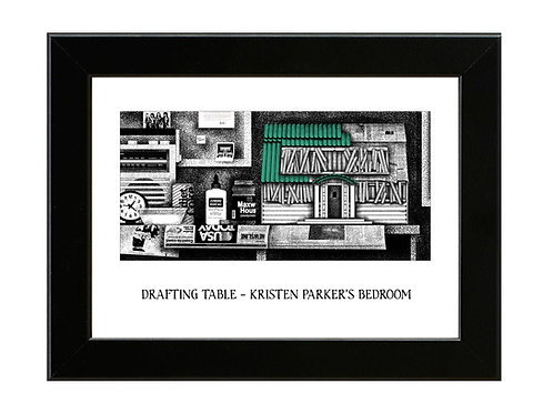 Kristen's House Model - Nightmare on Elm Street 3 - Framed Art Print