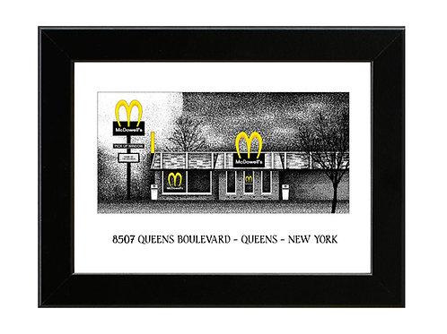 McDowell's / My-T-Sharp - Coming To America - Framed Art Print