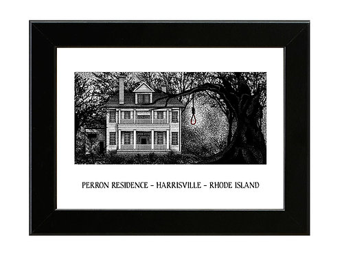 The Perron House - The Conjuring - Framed Art Print