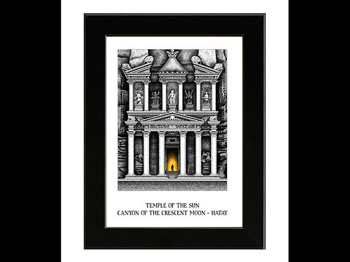 Indiana Jones and the Last Crusade - Temple of the Sun - Framed Art Print