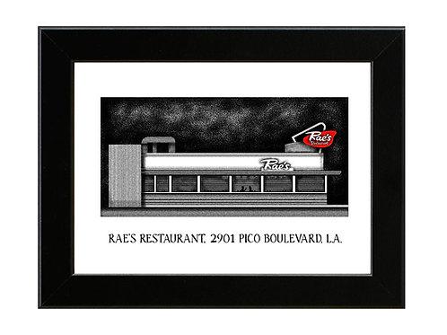 True Romance - Rae's Restaurant - Framed Art Print
