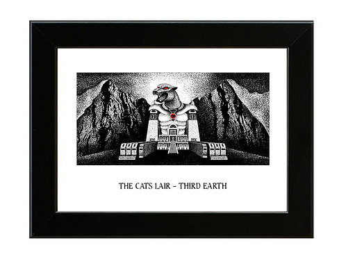 The Cats Lair - Thundercats - Framed Art Print