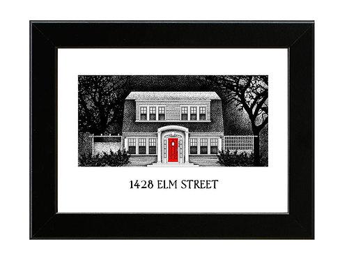 1428 Elm Street - Framed Art Print