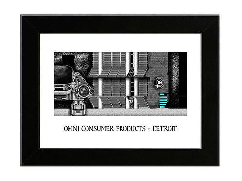 Omni Consumer Products - Robocop - Framed Art Print