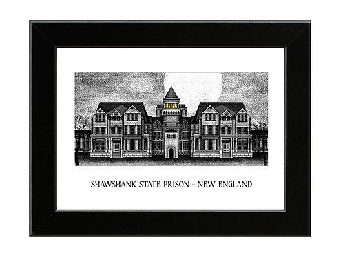 Shawshank Redemption - Shawshank Prison - Framed Art Print