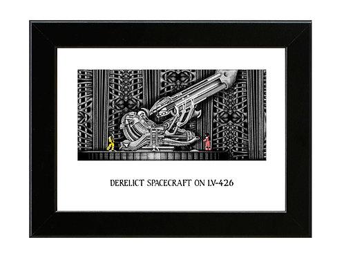 LV-426 - Alien - Framed Art Print