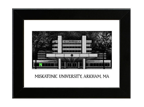 Miskatonic University - ReAnimator - Framed Art Print