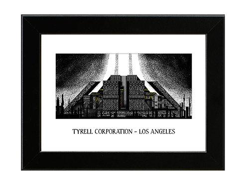 Tyrell Corporation - Blade Runner - Framed Art Print
