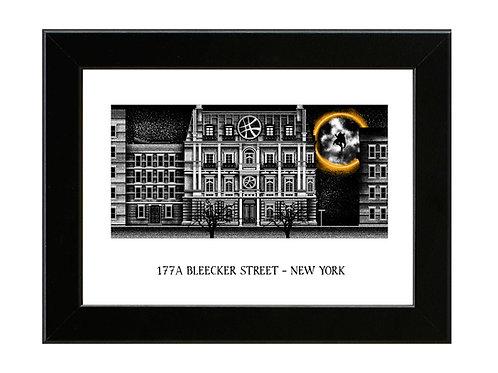 177a Bleecker Street - Dr Strange  - Framed Art Print