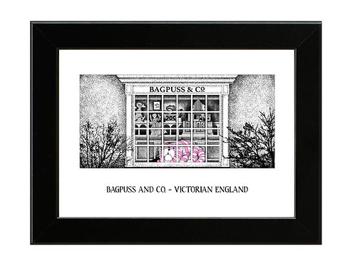Bagpuss and Co. - Framed Art Print