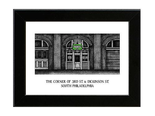 Paddy's Pub - Always Sunny in Philadelphia - Framed Art Print