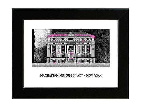 Ghostbusters 2 - Manhattan Museum of Art - Framed Art Print