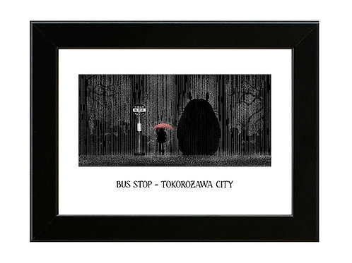 My Neighbour Totoro - Framed Art Print