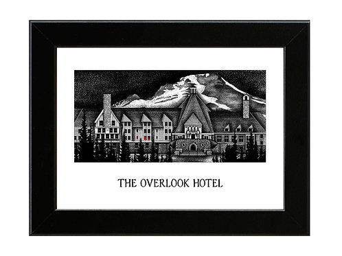 The Overlook Hotel - Framed Art Print