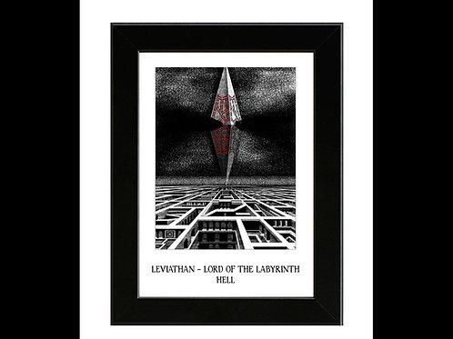 Hellraiser 2 - Leviathan - Framed Art Print