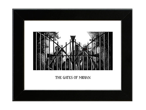 Midian Gates - Night Breed - Framed Art Print