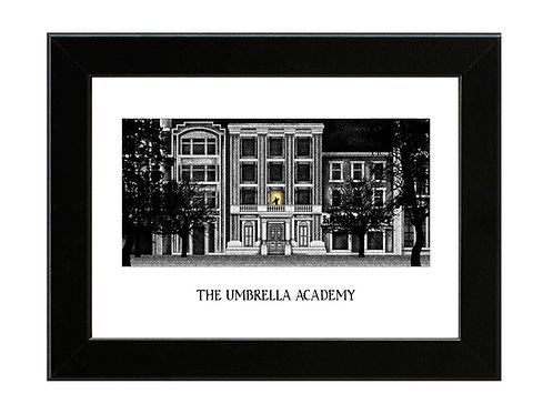 The Umbrella Academy - Framed Art Print