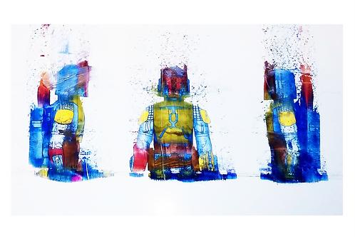 Boba Fett Laser Misfire - Art Print