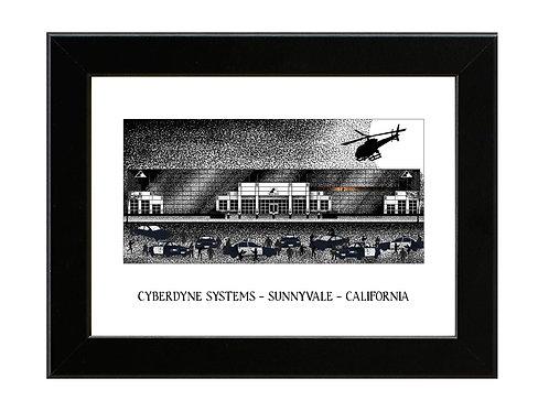 Cyberdyne Systems - Terminator 2 - Framed Art Print