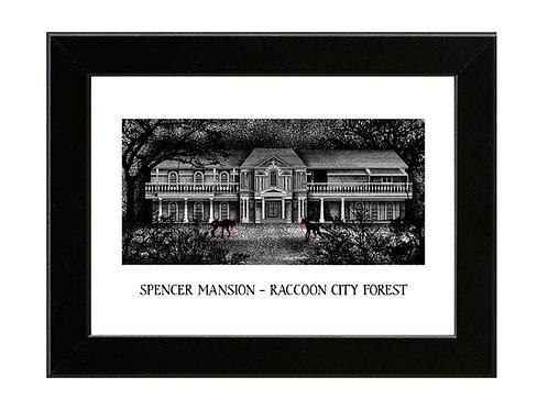 Spencer Mansion - Resident Evil - Framed Art Print