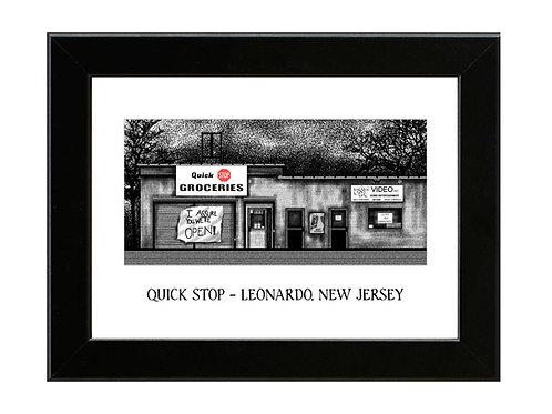 Clerks - Quick Stop - Framed Art Print
