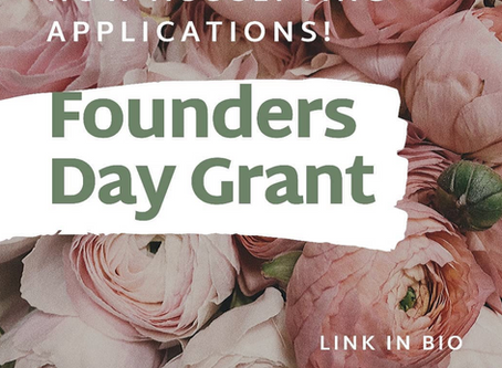 Now Accepting Applications for Founders Day 2020