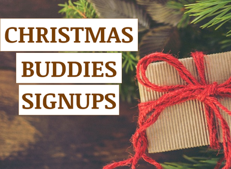 XMAS Buddies 2020 is LAUNCHED!
