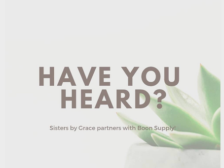 Boon Supply Fundraiser launches!