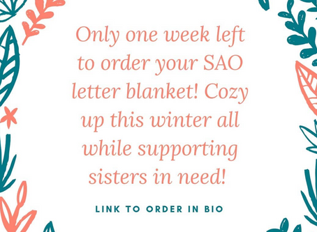 Blanket Fundraiser is LIVE