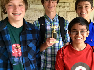 Success at First Certamen!