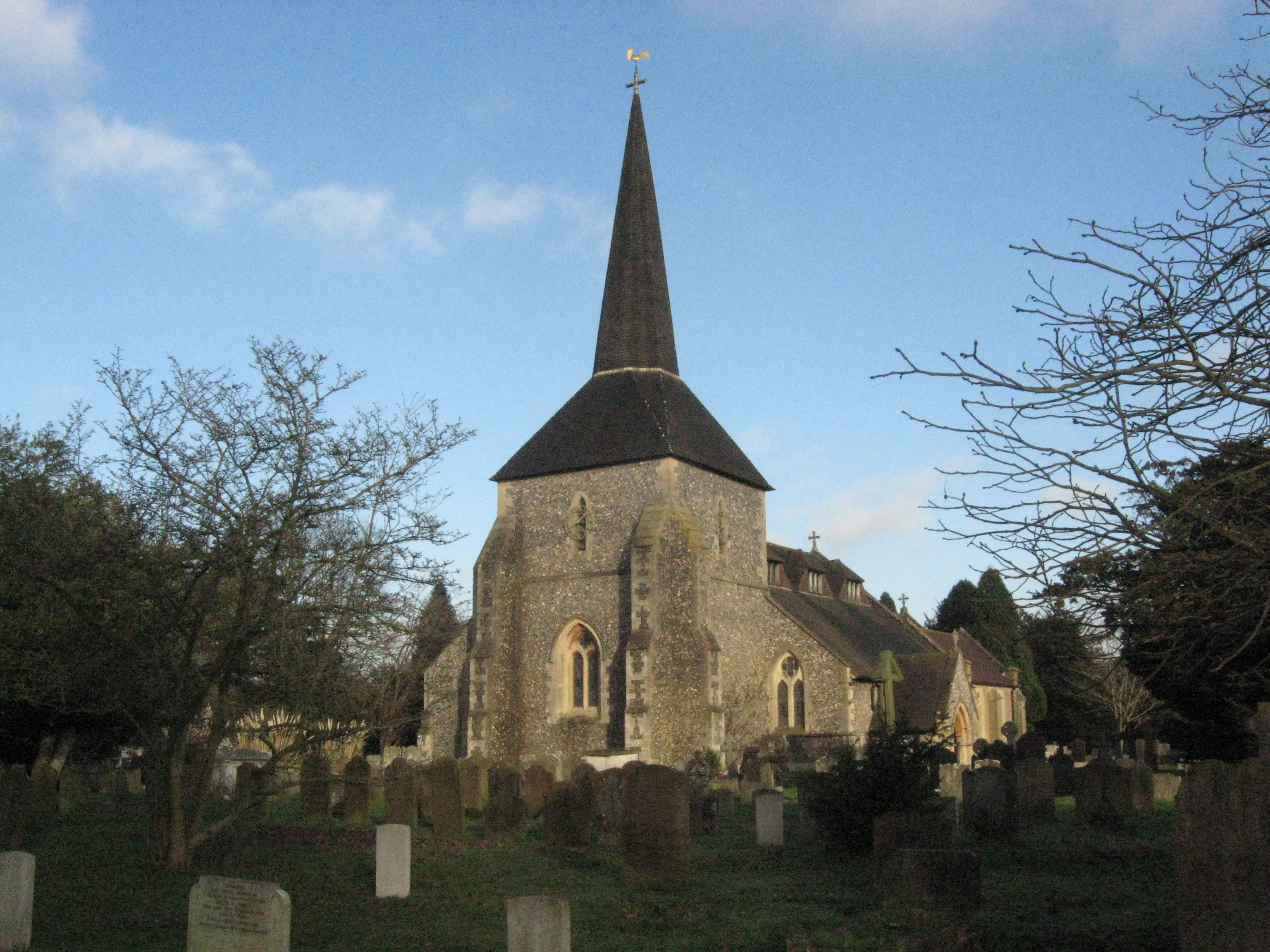 Banstead church 1