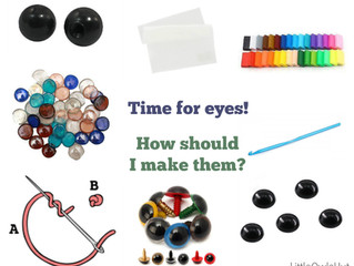 7 ways to make the eyes for your toy