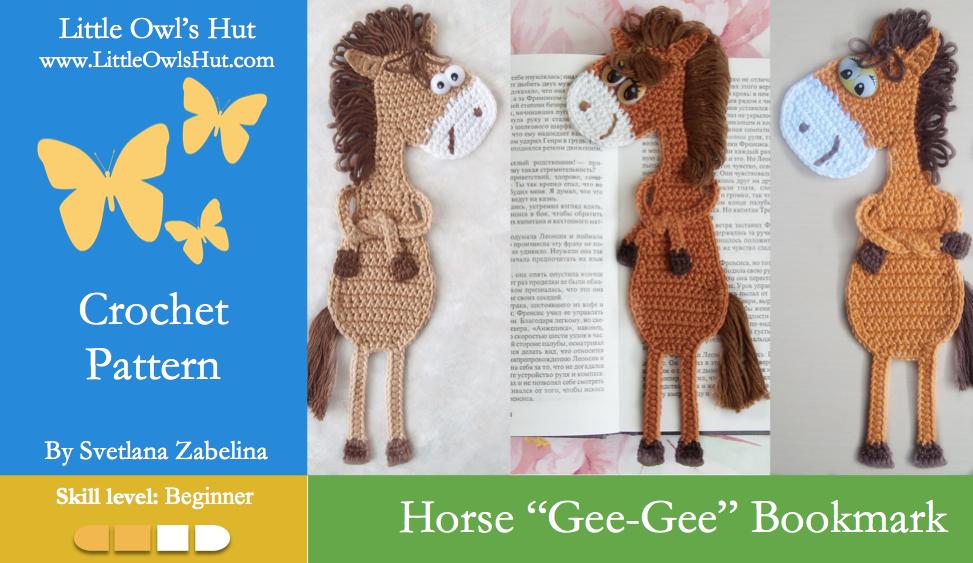 Zabelina Horse bookmark