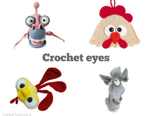How to crochet the eyes for your toy