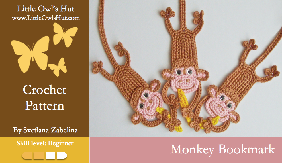 Zabelina Monkey bookmark