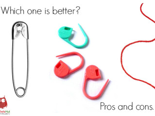 Which stitch marker should you use for LittleOwlsHut toys?