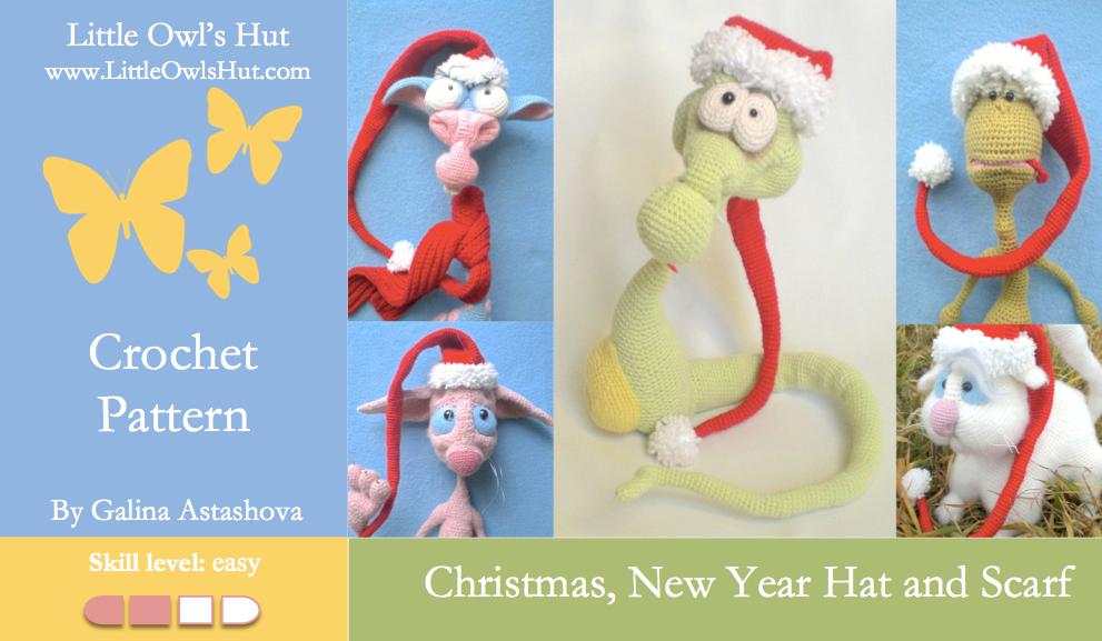 Astashova Christmas Hat