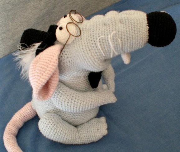 Rat littleowlshut amigurumi astashova