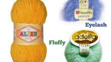 9 TIPS How to crochet using fluffy/fancy/eyelash/chenille yarn