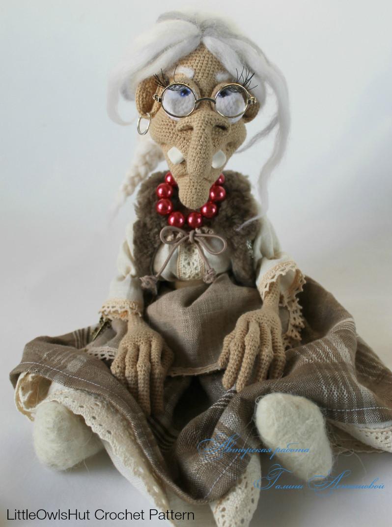 081 Charming Witch - Crochet Pattern PDF file Amigurumi by Astashova