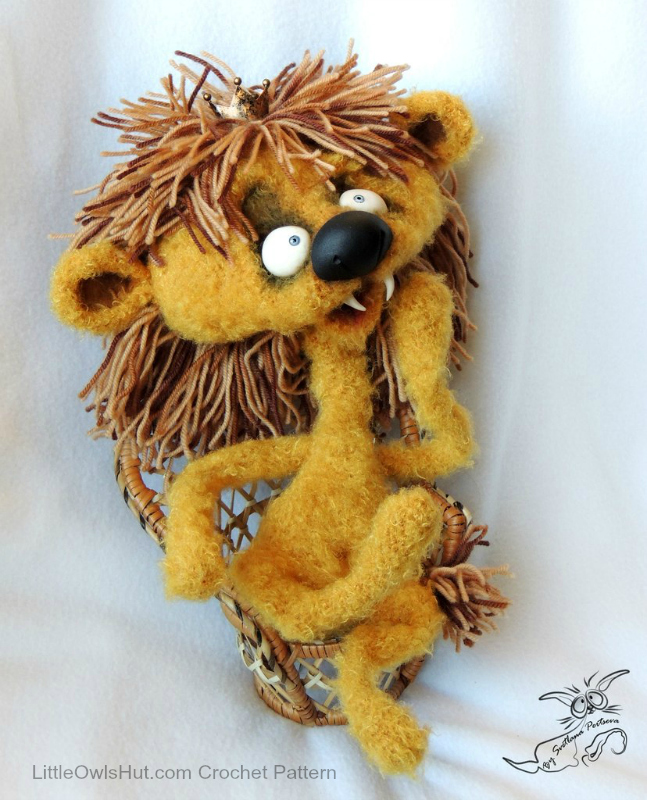 Lion teenager Tyoma